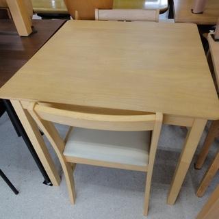 弘益 ダイニングテーブル 3点セット NA  テーブル/チェア×...