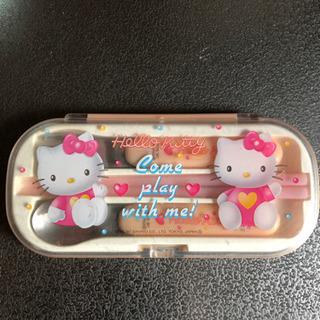 キティちゃんのお箸セット