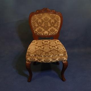 アンティーク調 猫脚椅子