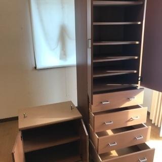 二段収納 - 家具
