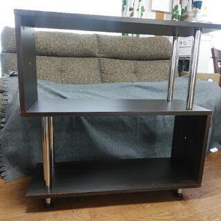 S字のオープンラック 組立家具