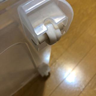 【取引中】収納ケース 衣装ケース コロ付き - 家具