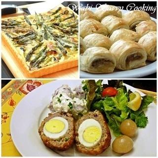 3月のお料理講習 ~イギリスのピクニック料理~