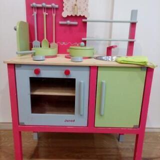 【取引中】Janod 木製キッチンセット おまけ付き