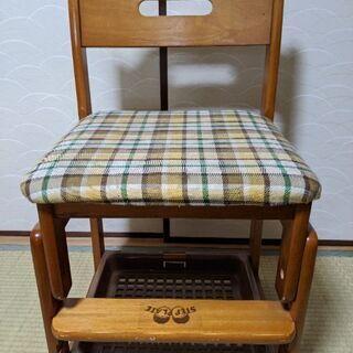 【貰って下さい】学習椅子(高さ調整可)3/20以降破棄