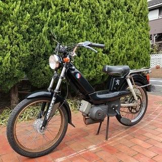 プジョー ヴォーグSP 黒 モペット 49cc [Peugeot...