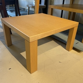 座卓 センターテーブル ナチュラル リビングテーブル 中古品①