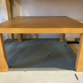 座卓 センターテーブル ナチュラル リビングテーブル 中古品②