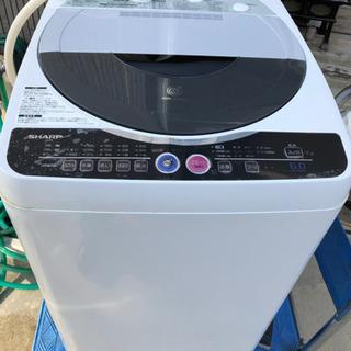 【取引決定】洗濯機 SHARP ES-FG60H