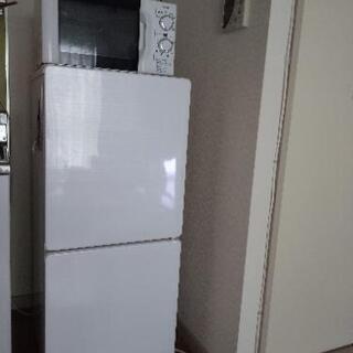 冷蔵庫 110L  2017年製 電子レンジ 2017年製