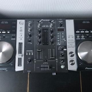 パイオニアCDJ200 DJM400 セット