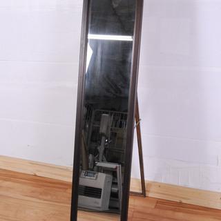 2104 木製 オーク材 姿見 全身鏡 スタンドミラー 壁掛け ...