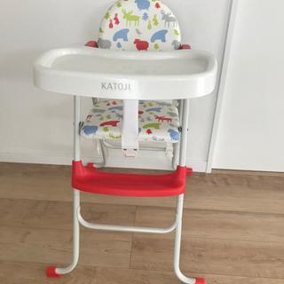 KATOJI 食事椅子 ベビーチェア ハイチェア