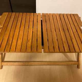 ニトリ アウトドア キャンプ 折りたたみテーブル(最終価格)