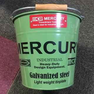 Mercuryのスチールバケツ