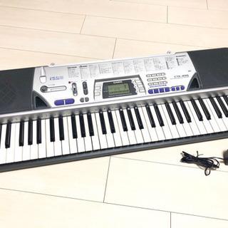 【取引決定】新品未使用★CASIO 電子キーボード☆CTK-496