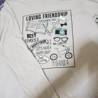 女児パジャマとTシャツ130-140