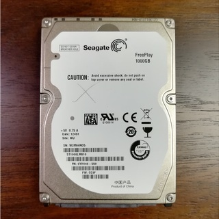 Seagate ST1000LM010 1TB 2.5 シーゲイト