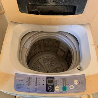 【決まりました】自動洗濯機 Haier 4.2キロ JW-K42F