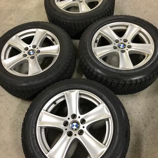 BMW X5 純正アルミ ブリザックスタッドレス付き4本セット