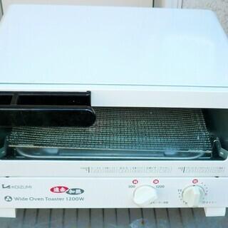 ☆コイズミ KOIZUMI KOS-1201 オーブントースター...