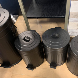 ゴミ箱 ブラック