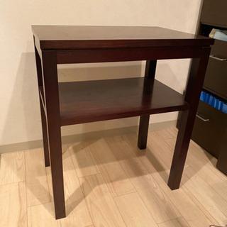 木製サイドテーブル。1000円!