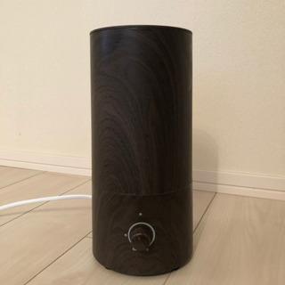 木目調 超音波式アロマ加湿器