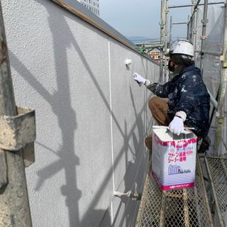 外壁塗装、ベランダ防水、お家の補修はお任せください😁 - 愛知郡