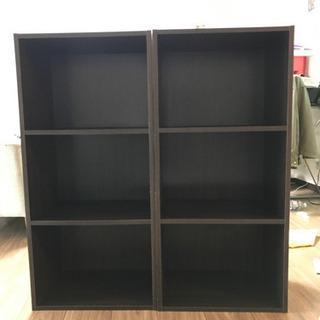 【取引先決定】3段ボックス カラーボックス