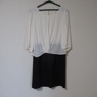 【再値下げ】a.v.v ワンピース(白色+黒色)M