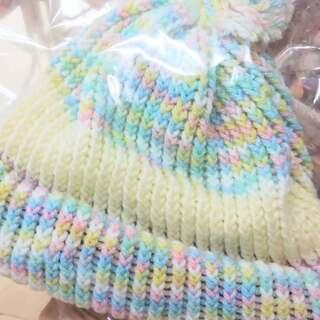明日の冬日に備えて、K&K Sistersさんのニット帽