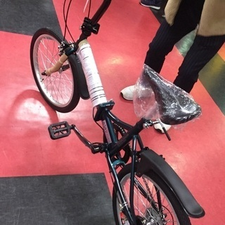 ★新品★折りたたみ自転車(キャプテンスタッグ6段変速)