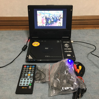 AVOX DVDポータブルプレ−ヤ− ワンセグ内蔵 車積
