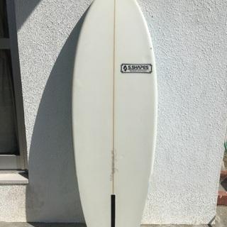 サーフボード シングルフィン S Shapes 5'6   St...