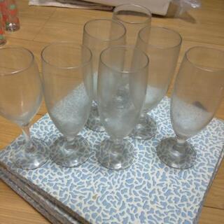 グラス 6+1個