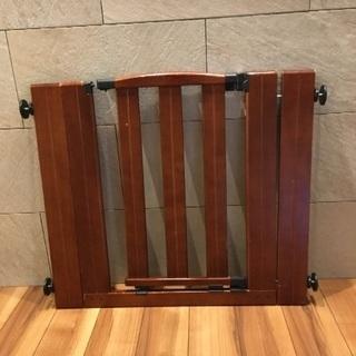 ベビーゲート 木製 日本育児  ウッドピア