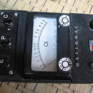 ナショナル自動接地抵抗測定器BN-301 ジャンク品
