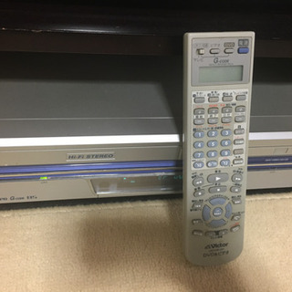 VHS、DVDプレーヤー