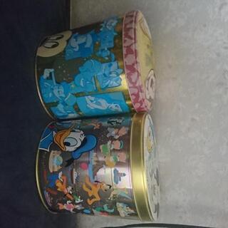 ディズニー クランチ缶