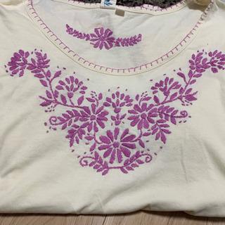 チチカカ 刺繍Tシャツ