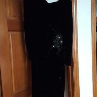 ベロア調ドレス