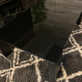 ローテーブル ブラック