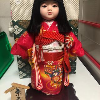 桂甫作 市松人形