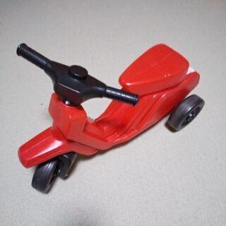 赤いミニバイク♪