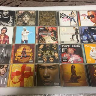 主に洋楽R&B ヒップホップ CD100枚