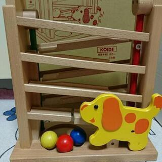 granpapa こども木製玩具 コロコロキンコン