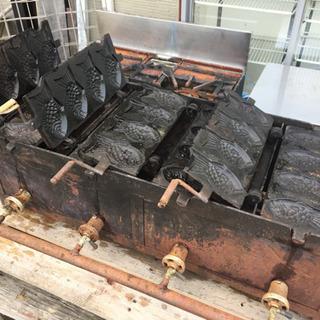 レトロ・たい焼き機・4匹×4連・掛川市より