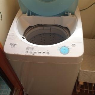 【 洗濯機 】SHARP ES-FL45 全自動洗濯機