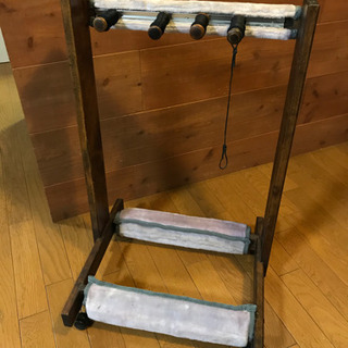 木製ギタースタンド 4〜5本掛け